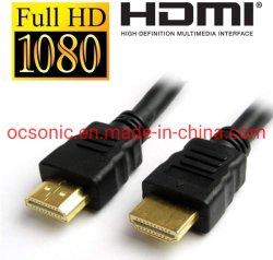 Mannetje HDMI aan het Mannelijke Lood 1.4V Ethernet 3D Volledige HD 1080P van kabeltelevisie HDMI Compatibel met Laptop, TV