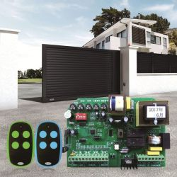 高品質 RF リモートコントローラおよびレシーバコントロールボードコントローラ スライディングドア用