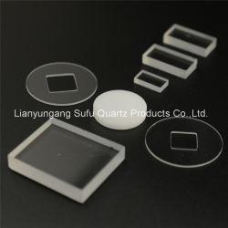 Оптический высокой чистоты кремния с плавким предохранителем УФ кварцевое стекло пластины Сделано в Китае