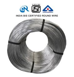 インド BIS 認定亜鉛めっきスチールワイヤ / 鉄ワイヤ / 結合ワイヤ 1.25 mm 1.4 mm 構造用 1.6 mm
