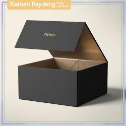 Confezione regalo pieghevole Raydeng Luxury con stampa a caldo in carta oro