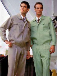 100%хлопок мужчин изолированный утка Coverall с отражающими накладками для промышленности