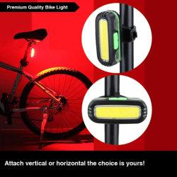 2 в 1 Светодиодные лампы задних фонарей початков велосипедов в ночное время на лошадях лампы освещения