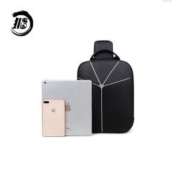 맞춤형 내마모성 방수, USB 헤드폰 포트, 사이클링 체스트 백이 있는 어깨 하나에 가벼운 가방