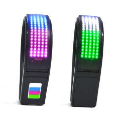 Il modello di Linli 11 illumina la lampada di clip in su infiammante dei pattini del LED per Biking ambulante pareggiante funzionante