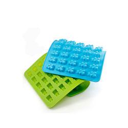 Formten ABS Form-Hersteller-Plastikspritzen-Form-kundenspezifische Formteile Selbstteppich-gummiartige Bären-Formen