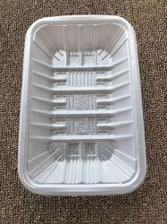 De plastic Container van het Vlees van het Fruit PLA van de Container van de Verpakking van het Voedsel van de Blaar Milieuvriendelijke Dienende