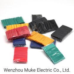 530PCS الحرارة تقلص عزل الأنابيب الشقفيه أنبوبي متنوعة إلكترونية متعددة الأولون طقم جلبة كابل سلكية تقلص الحرارة