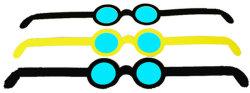프로모션 선물용 3D 안경 중국 제조 PP 소재