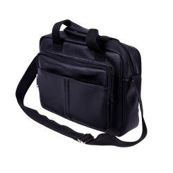 Schwarze PU Brieftasche Mode Computer Tasche