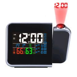 Horloge de bureau Multificational avec 3 alarmes et rétroéclairage réglable