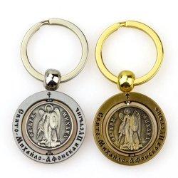 Высокое качество отливки штампов индивидуальные металлические цепочки ключей обладателя ключа с Tiger логотип с заводская цена