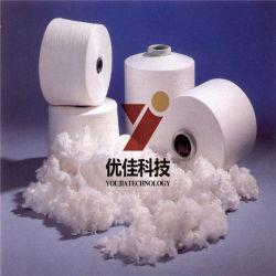 Super alta qualidade de fibra de poliéster branco para 7D 64mm
