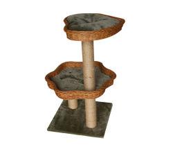 Novo Design de Produto Pet, Escalada Willow Cat Scratcher Tree