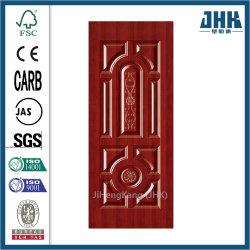 Los paneles de pared de madera de la puerta de melamina de moldeo de piel