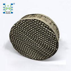 SS304 316L perforado de la placa de metal corrugado embalaje empaque estructurado de metal