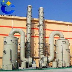 Las instalaciones de verde para el sistema de tratamiento de gases de escape en la industria química