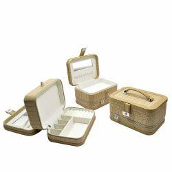 Coffret à bijoux en bois personnalisé Boîte de rangement boîte créative Boîte en bois