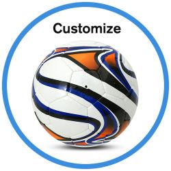 Bal van het Voetbal van de Voetbal PVC/PU/TPU van de douane de Promotie met Embleem