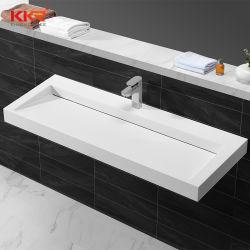 スマートなカスタムアクリル樹脂の固体表面の石造りの浴室の洗面器の流し