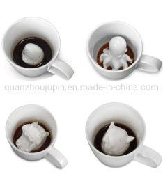 OEM 3D 創造的なセラミック動物 Octopus コーヒーカップマグ
