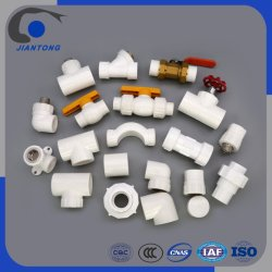 Excelente material anticorrosivo PPR accesorios de tubería de abastecimiento de agua
