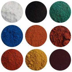 Ossido di ferro della polvere del pigmento di colore di alta qualità per i lastricatori