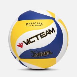 Cuero compuesto de alta calidad de voleibol de la formación