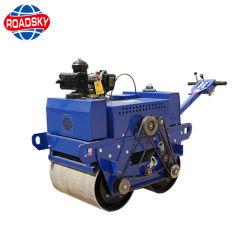 Vibração hidráulica manual do compactador Rolo de estrada para venda