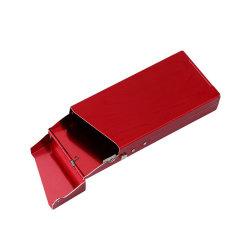 L'aluminium Boîte à cigarettes cas Cigaret métal de couleur Couleur Cigeret Cadeaux