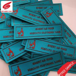 Top Quality Custom Logo Woven Name Labels For Clothes