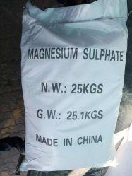 19.6% من كبريتات الماغنسيوم الكبريت Mgso4 عنصر التتبع