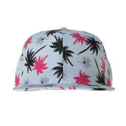 Fabrikant Hawaiian Floral Pattern Fabric Snapback Caps Sporthoeden