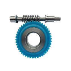 Attrezzo di nylon di plastica della rotella di vite senza fine di precisione, attrezzi di vite senza fine di nylon