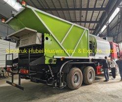 HOWO 6X4 8X4 puce synchrone d'étanchéité de la distribution de gravier de bitume de Camion Camion pour la construction de routes de la machinerie de pavage de l'autoroute de l'entretien
