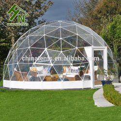 Jardin transparent Green House Backyard dôme géodésique tente d'auvent
