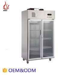 Gute Qualitätssupermarkt-Geräten-Luftkühlung-Bildschirmanzeige-Glastür-Kühlraum-Kühlraum-Kühlvorrichtung
