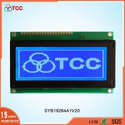 Ткк ЖК-промышленных 19264 Graphic DOT Matrix Stn синего цвета дисплея на модуль Aip31107/8 Контроллер 20-контактный 192X64 ЖК-дисплей