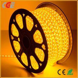 IP65 5050 LED гибкие газа свет одного цвета белый и теплый белый/зеленый/синий/красный/желтый AC220V 110V светодиодный индикатор каната