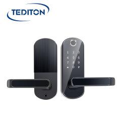 Serrure de porte d'empreintes digitales biométriques sans clé électronique étanche WiFi de serrure de porte de l'app Smart Pavé numérique à code de verrouillage de porte