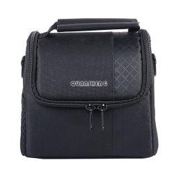 防水および耐震性SLRのカメラレンズ袋の小型のカメラ袋OEMのラベルの生産のコンパクトの黒のカメラ袋のカメラの箱のアクセサリ
