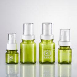 Bottiglia medica verde senza alcool della crema dell'unguento, bottiglia facciale del Masque