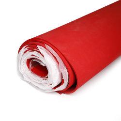 38 ورقة مطاطية من نوع Natural Gum ذات سطح خشن أحمر زووي