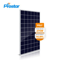 Prostar 275W Module solaire poly 275 Wp fabrication chinoise 60 cellules Cellule Module Module solaire polycristallin