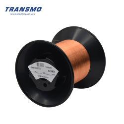 Collegare di rame smaltato poliuretano di Solderable, codice categoria termico 155, diametro 0.032mm per il relè