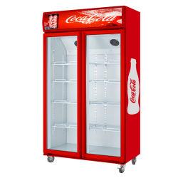 スーパー・ビア・ディスプレイ・フリーザー・クーラー / 垂直冷蔵庫飲料用冷蔵庫