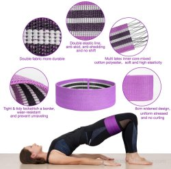 Home oefening 100% katoen Polyester TPE Rubber Eco-vriendelijke lus Latex Resistance Set Workout Fitness Gym Kits Resistant Band with Schuimhendel voor ABS