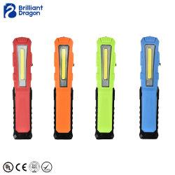 Linterna LED Mini portátil Multifunción recargables luz LED de trabajo de la COB