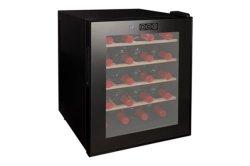 20 Flaschen-schwarze thermoelektrische Wein-Kühlvorrichtung
