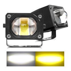 자동차 부속 영사기 렌즈 일 램프 차 6500K 4300K 백색 호박색 트럭 Offroad 안개 30W 24V 12V LED 모는 빛